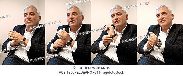 Portrait of TV personality Rik Felderhof