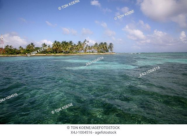 San Andres Island in the Caribbean. Colombia