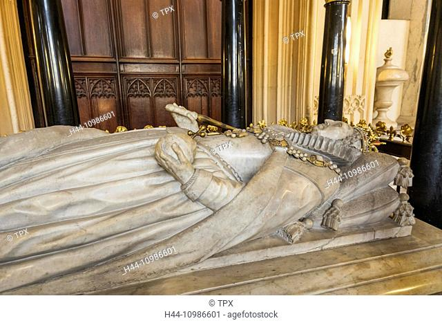 England, London, Westminster Abbey, Henry VII, 's Lady Chapel, Tomb of Queen Elizabeth l