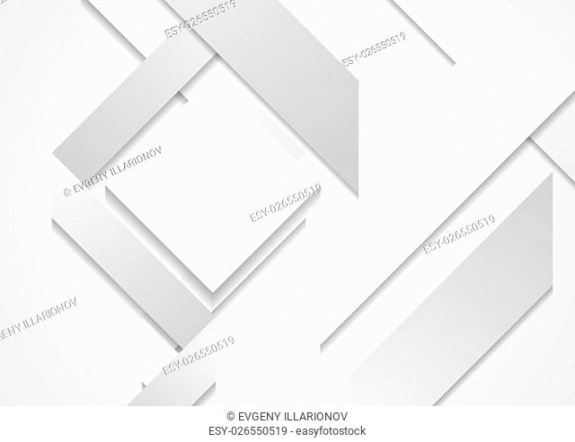 Abstract hi-tech geometric shapes background