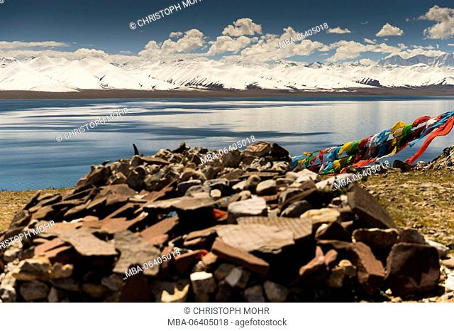 Tibet, Nam Tso lake