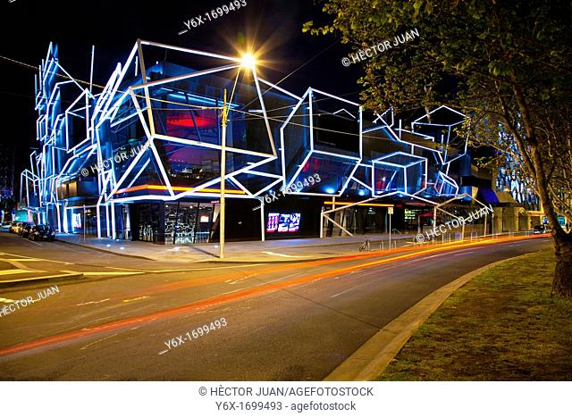 MELBOURNE RECITAL CENTRE at night