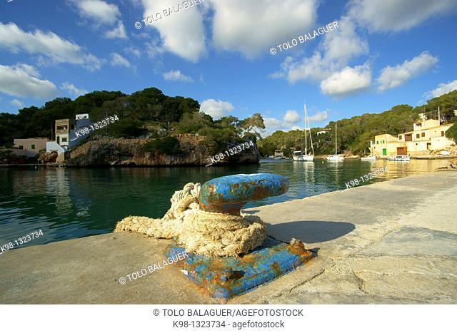 Cala Figuera, Santanyi, Migjorn Mallorca, Baleares, Spain