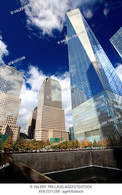 The One World Trade Center, Manhattan, New York City, New York, USA