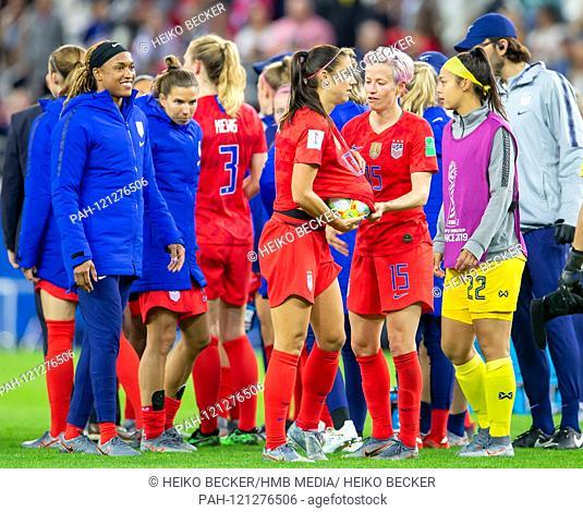 France, Reims, Stade Auguste-Delaune, 11.06.2019, Football - FIFA Women's World Cup - USA - Thailand Photo: Alex Alex Morgan (USA