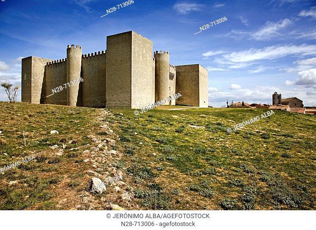 Castillo de Montealegre de Campos, Valladolid, Castilla Leon, España
