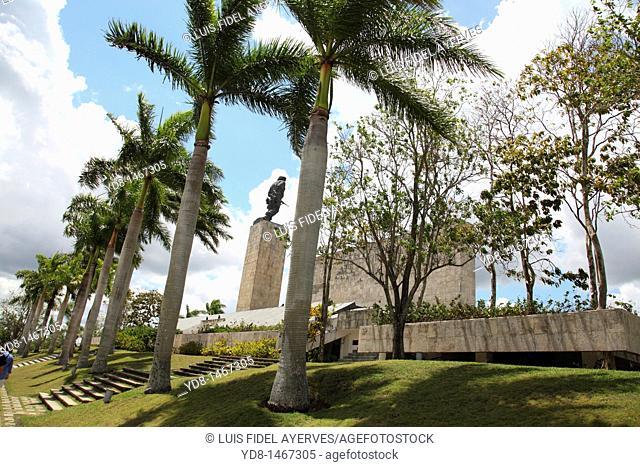 Side View of the Monument to Ernesto Che Guevara in Santa Clara, Villa Clara, Cuba