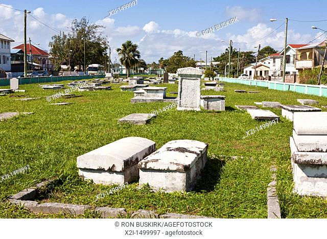 Yarborough Cemetery in Belize City, Belize