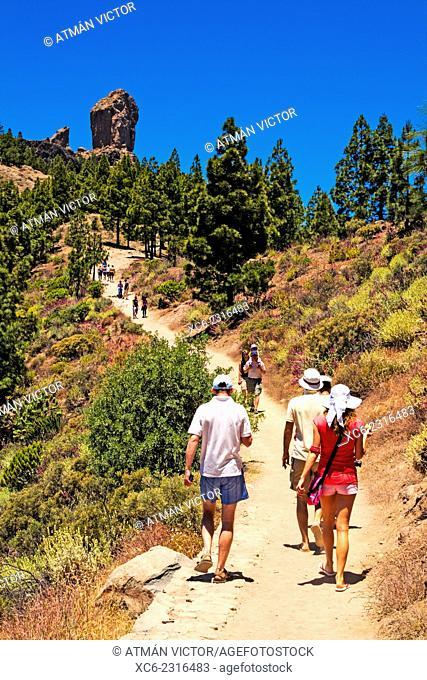Roque Nublo hiking in Gran Canaria
