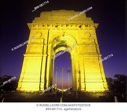 India Gate Arch, New Delhi, India