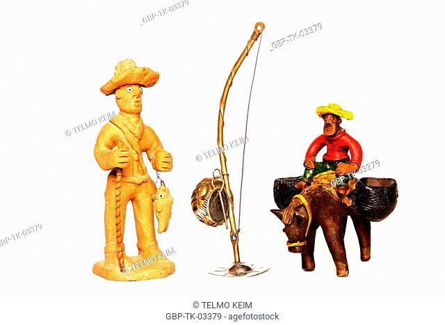 Object, doll, sertão, northeastern, folclore, miniature, decoration, Brazil