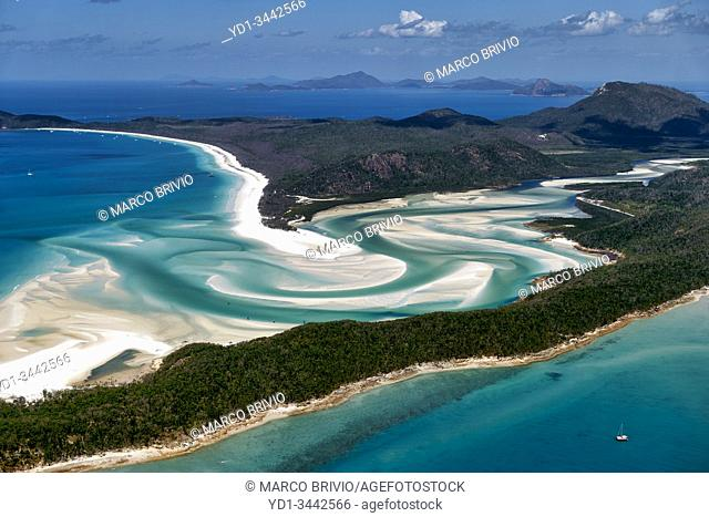 Whitehaven Beach. Whitsundays Queensland Australia