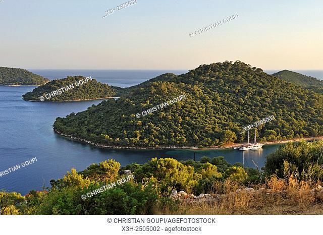 Velo Lago bay, Pasadur, Lastovo island, Croatia, Southeast Europe