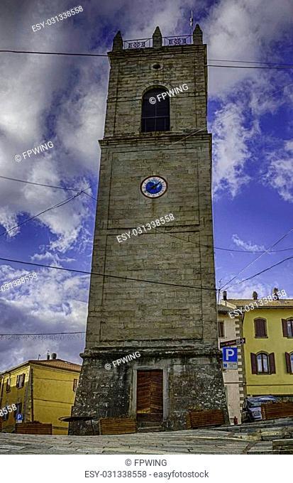 Cityscape of Sestola Modena Italy