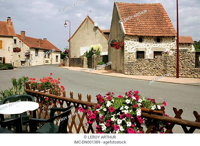 France, Auvergne, Sainte-Therence