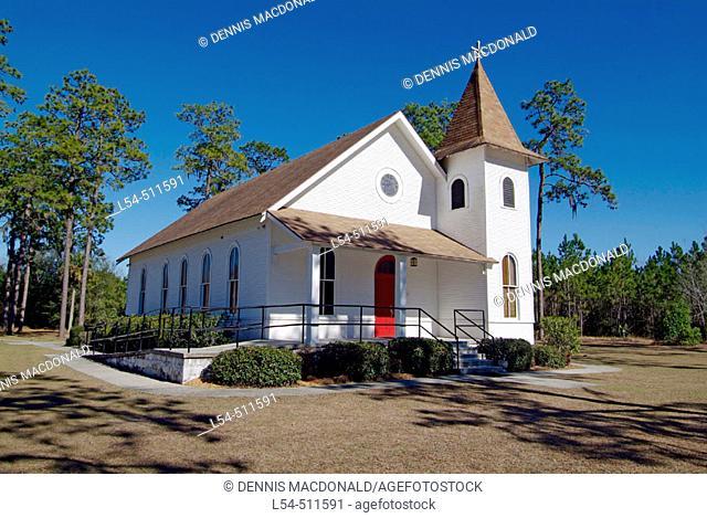 Immaculate Conception Catholic church near Cross City Florida FL