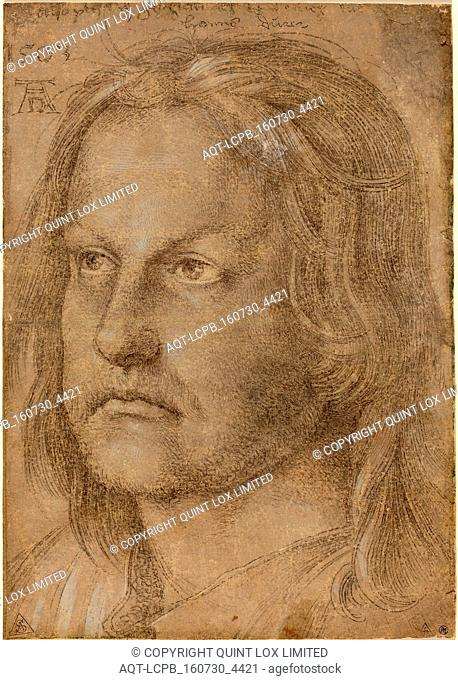 Albrecht Dürer (German, 1471 - 1528), Hanns Dürer, Brother of Albrecht Dürer, probably 1510, silverpoint heightened with white on brown prepared paper