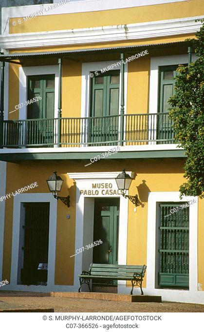 Pablo Casals Museum. Old San Juan. Puerto Rico