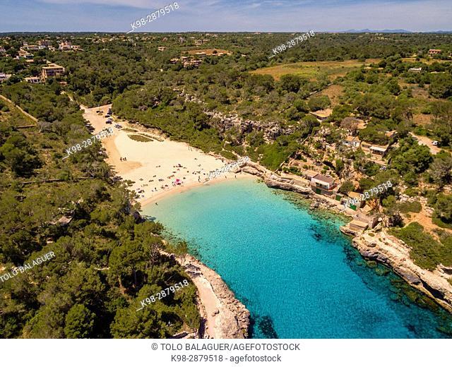 Cala Llombards, Santanyí, Mallorca, balearic islands, spain, europe