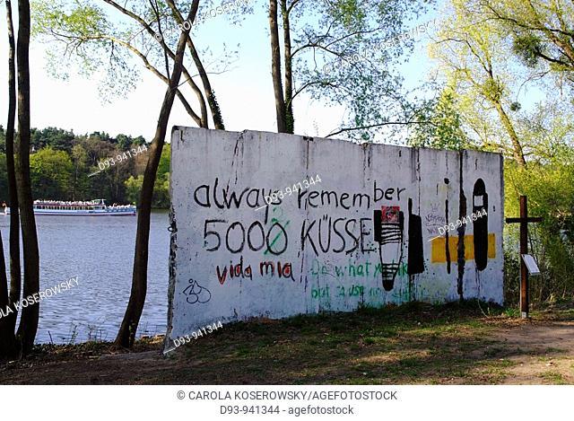 D, Europe, Germany, Brandenburg, Potsdam, Babelsberg, Wall, Memorial
