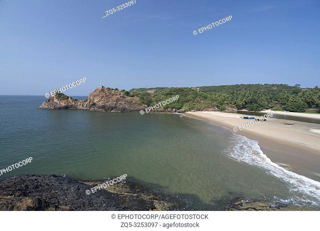 NIvti rock and Nivti beach, Sindhudurg, Maharashtra, India