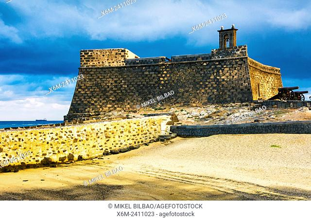Castle of San Gabriel. Arrecife. Lanzarote, Canary Islands, Spain, Europe
