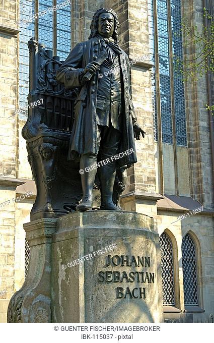 Johann Sebastian Bach Monument Leipzig Germany