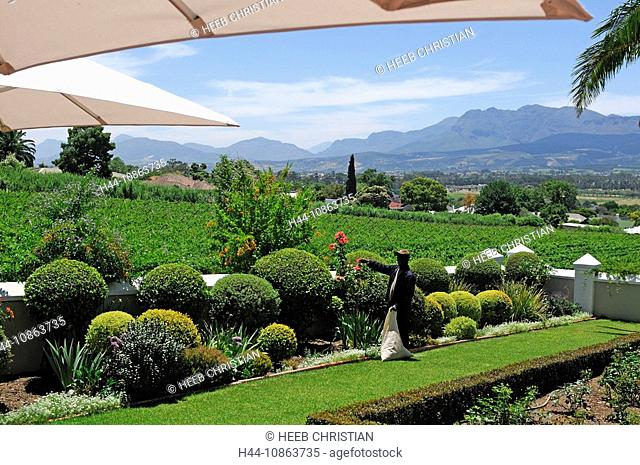 Grande Roche Relais & Chateaux Hotel, Paarl, Western Cape, South Africa, hotel, resort, tourism, tourist, travel, vacation, holiday, green, park, plants
