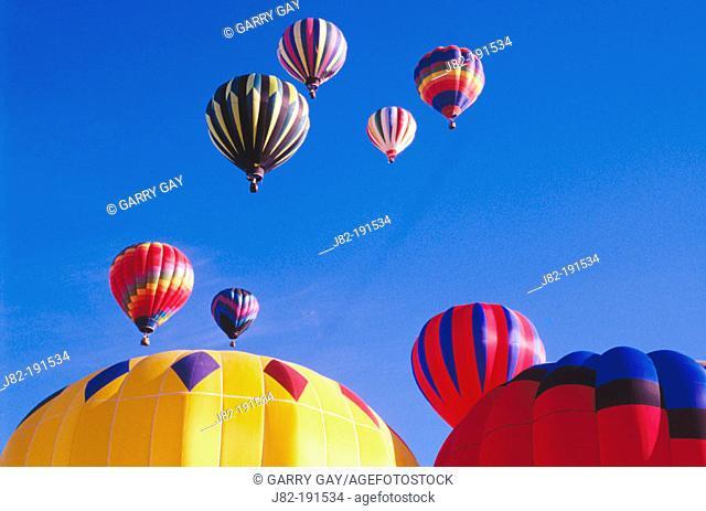 Hot air balloon festival. California. USA