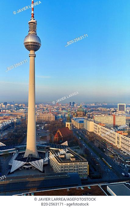Television tower, Alexanderplatz, Berlin, Germany