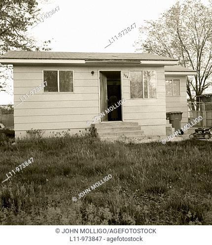 Shack house in Garden City, Idaho