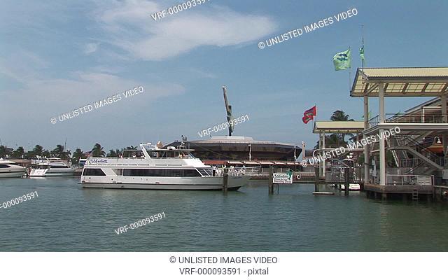 North America, Florida, Miami, Bayside, Bayside Market, Miami boats, boats