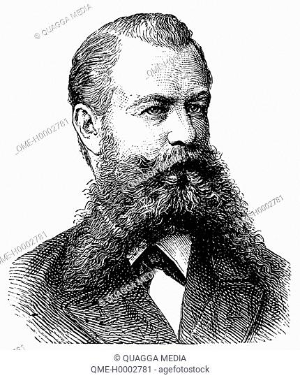 Portrait of a German, man from Germany