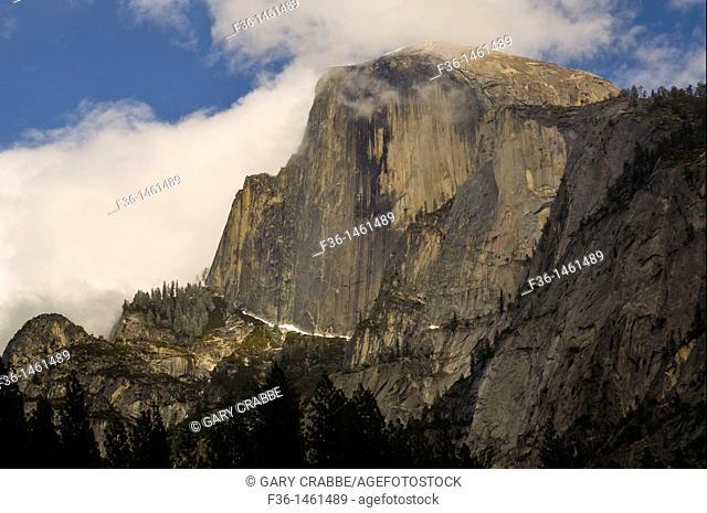 Half Dome, Yosemite Valley, Yosemite National Park, California
