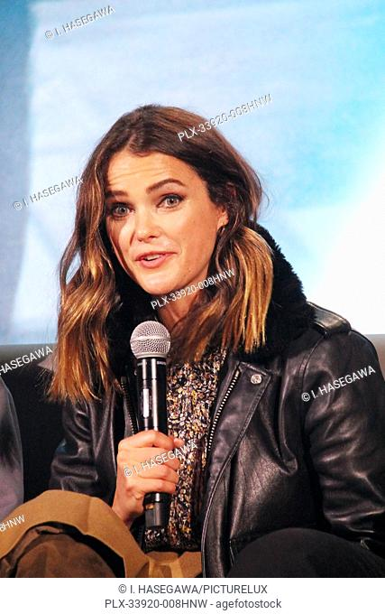 """Keri Russell 12/04/2019 """"""""Star Wars: The Rise of the Skywalker"""""""" Press Conference held in Pasadena, CA. Photo by I. Hasegawa / HNW / PictureLux"""