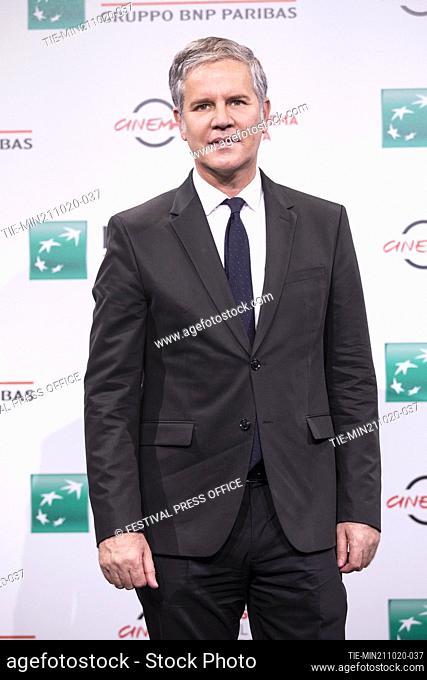 Juan Carlos Cruz during the photocall of movie' Francesco' at the 15th Rome Film Festival, Rome, ITALY-21-10.-2020