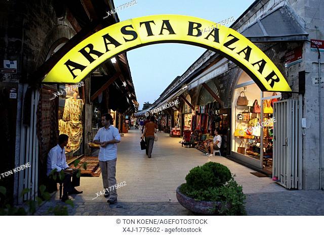 arasta bazaar, istanbul