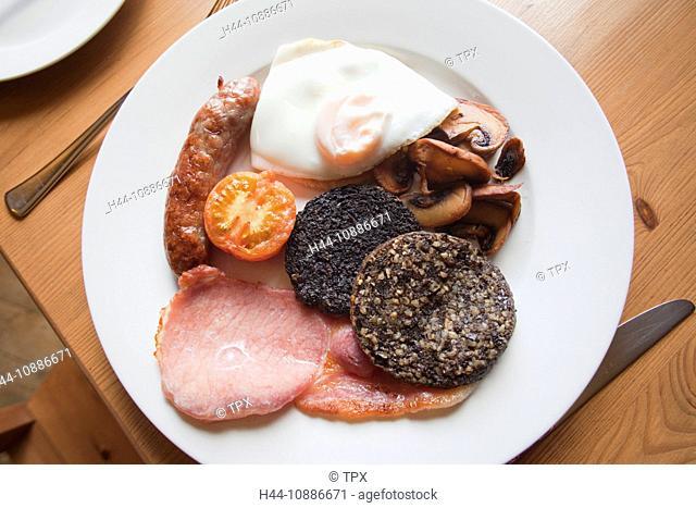 Scotland, Traditional Scottish Breakfast