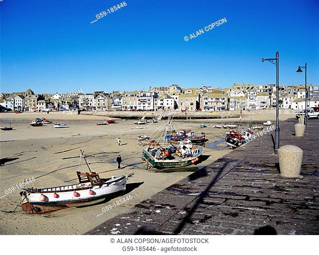 St. Ives. Cornwall. England