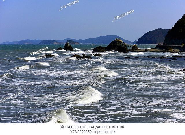 Seaside around the Ise bay, Japan, Asia