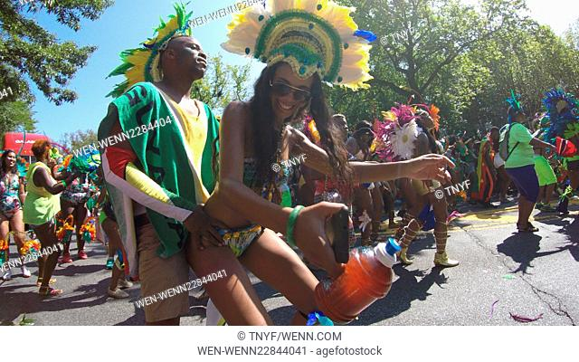 Scene from 2015 West Indies Day Parade Featuring: Governor Cuomo, Mayor DeBlasio, Atmosphere Where: Manhattan, New York, United States When: 08 Sep 2015 Credit:...