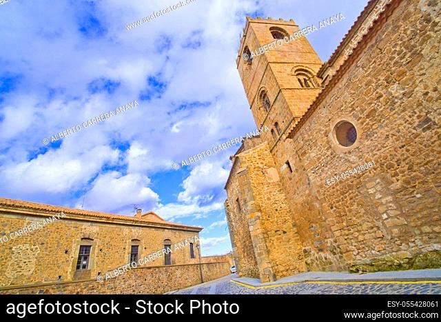 San Miguel Church, 12-16th Romanesque-Gothic Style, Soria, Castilla y León, Spain, Europe