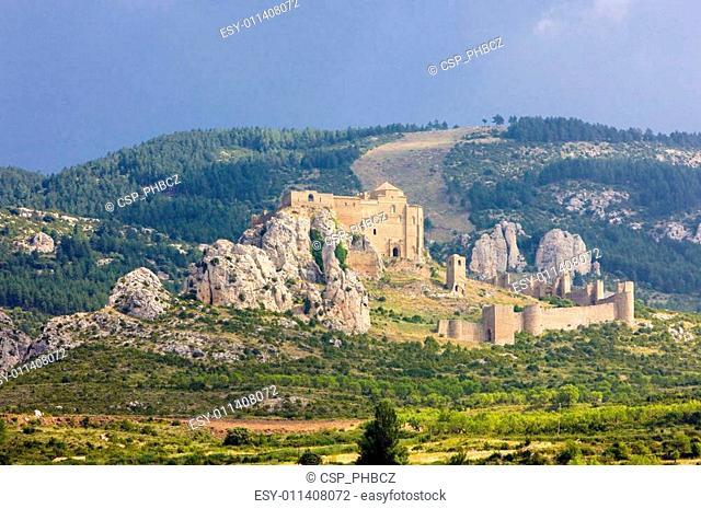 Loarre Castle, Huesca Province, Aragon, Spain