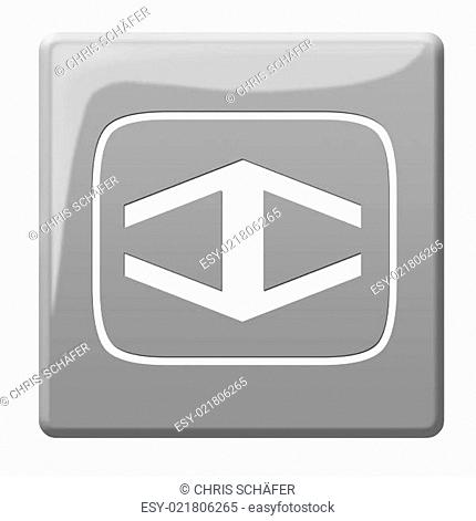 Stop button icon sign Stock Photos and Images | age fotostock