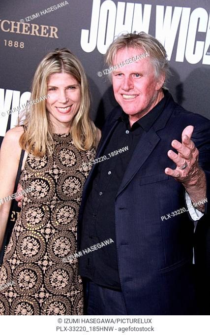 "Gary Busey 01/30/2017 The Los Angeles Premiere of """"John Wick: Chapter 2"""" held at the ArcLight Hollywood in Los Angeles"