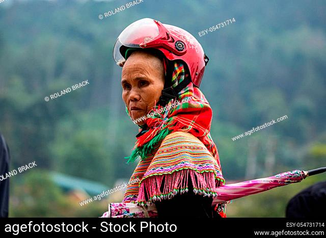 The local tribes of Bac Ha in Vietnam