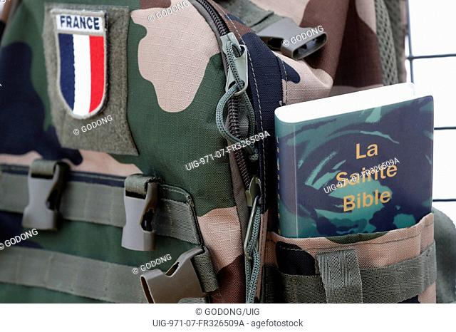 Holy Bible for the french army