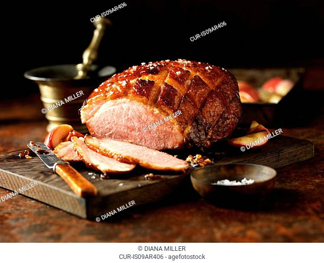 Carved gammon