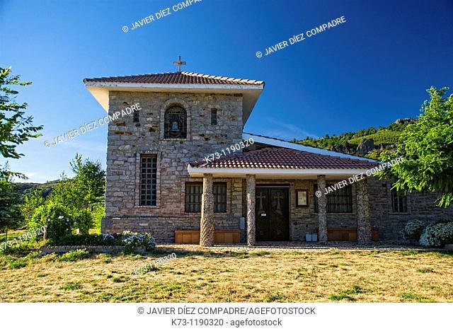Virgen del Pando Chapel. Prioro. Leon province. Castilla y Leon. Spain