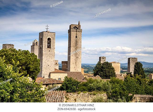 San Gimignano, Belfrey of Collegiata Santa Maria